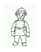 Sam il pompiere da colorare 82