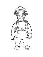 Sam il pompiere da colorare 112