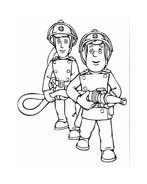 Sam il pompiere da colorare 114