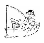 Nave e barca da colorare 132