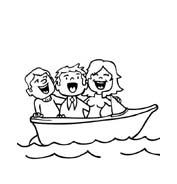 Nave e barca da colorare 134