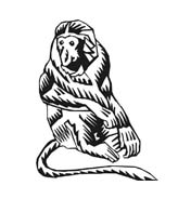 Scimmia da colorare 52