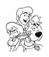 Scooby doo da colorare 87