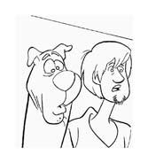 Scooby doo da colorare 96