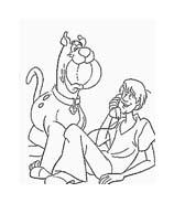 Scooby doo da colorare 101