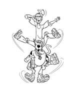 Scooby doo da colorare 179