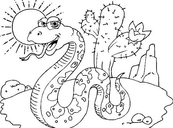 Serpente da colorare 61