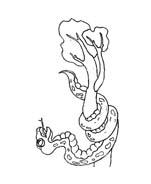 Serpente da colorare 60
