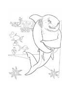 Shark tale da colorare 14