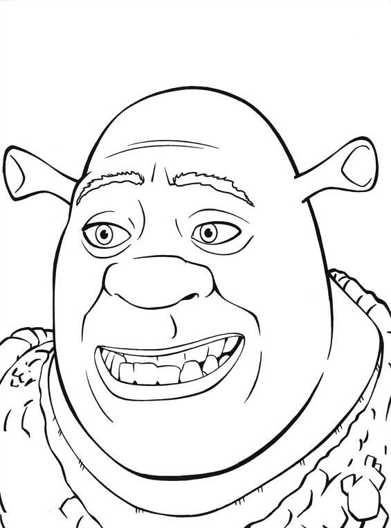 Shrek da colorare 153