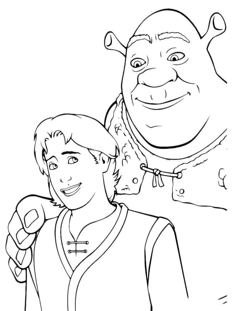 Shrek da colorare 231