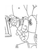 I Simpson da colorare 24