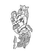 Sirena da colorare 14