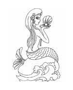 Sirena da colorare 19