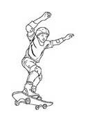 Sport misto da colorare 153