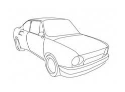 Automobile da colorare 401