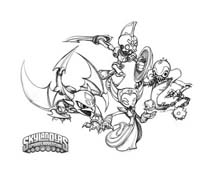 Skylanders da colorare 17