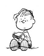 Linus snoopy da colorare 4