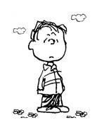 Linus snoopy da colorare 7