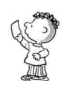 Linus snoopy da colorare 8
