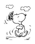 Linus snoopy da colorare 11