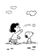Linus snoopy da colorare 12