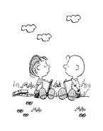 Linus snoopy da colorare 16