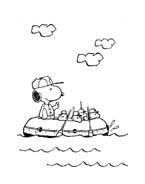 Linus snoopy da colorare 17
