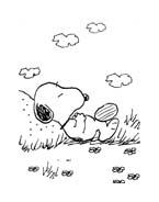 Linus snoopy da colorare 18