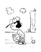 Linus snoopy da colorare 19