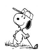 Linus snoopy da colorare 24