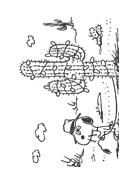 Linus snoopy da colorare 25