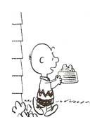 Linus snoopy da colorare 26
