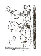 Linus snoopy da colorare 30