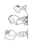 Linus snoopy da colorare 31
