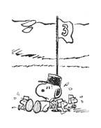 Linus snoopy da colorare 34
