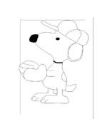 Linus snoopy da colorare 36