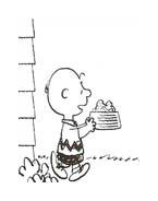 Linus snoopy da colorare 44