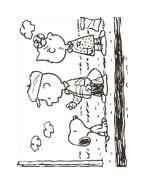 Linus snoopy da colorare 45