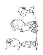 Linus snoopy da colorare 46