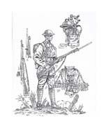 Soldato da colorare 62