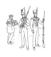 Soldato da colorare 64