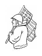 Soldato da colorare 65