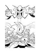 Sonic da colorare 8