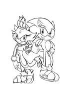 Sonic da colorare 19