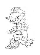Sonic da colorare 20