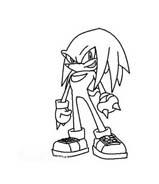 Sonic da colorare 28