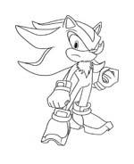 Sonic da colorare 32