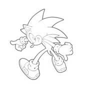 Sonic da colorare 36