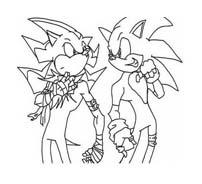 Sonic da colorare 39